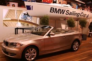BMW Activates well at the Paris Boat Show