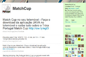 Troia Portugal Match Cup on Twitter