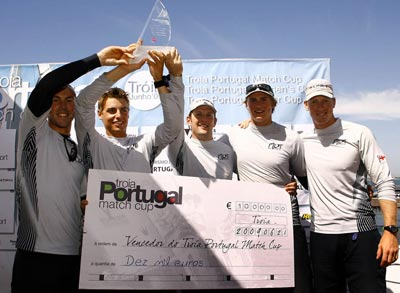 You're Ad Here - MRT now lead the World Match Racing Tour.