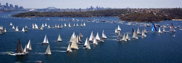Watch the 2010 Rolex Sydney Hobart Yacht Race Start Live.