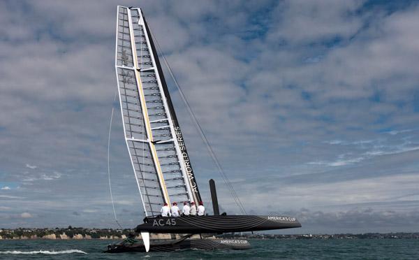 AC45 America's Cup Multihull Catamaran