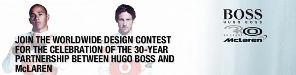 Hugo Boss Sponsor Sailing and F1