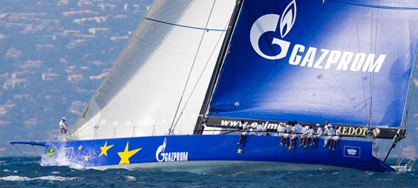 Esimit Europa sponsored by Gazprom