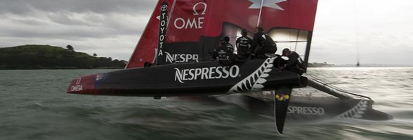 Emirates Team NZ sponsored by DELL